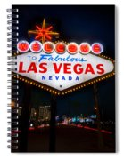 Welcome To Las Vegas Spiral Notebook