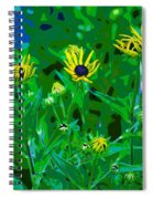 Welcome To The Garden Spiral Notebook