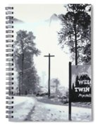 Welcome To Twin Peaks Spiral Notebook