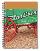 Woodland Park, Colorado, The City Above The Clouds, Elevation 8500 Feet, 2590 Meters Above Sea Level Spiral Notebook