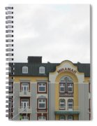 Welcoming Lovely Wind Spiral Notebook