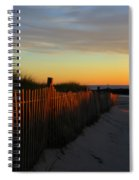 Welcoming The Day Spiral Notebook