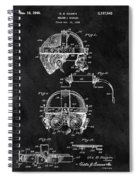Welding Goggles Patent Spiral Notebook