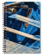 Well Used Fishing Boat Spiral Notebook