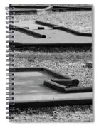 Well Used Mini Golf Course Spiral Notebook