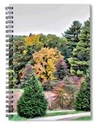 Wellesley College Campus Spiral Notebook