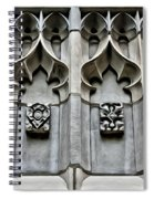 Wellesley College Tower Court Detail Spiral Notebook