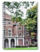 Wellesley College Walsh Alumni Hall Spiral Notebook