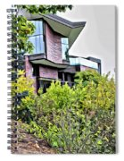 Wellesley College Wang Campus Center Spiral Notebook