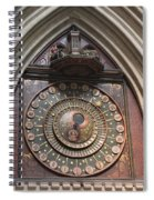 Wells Cathedral Astronomical Clock Spiral Notebook