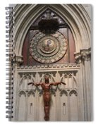 Wells Cathedral Geocentric Clock Spiral Notebook