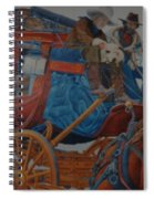 Wells Fargo Stagecoach Spiral Notebook
