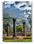 Wellspring Fountain - Council Bluffs Iowa Spiral Notebook