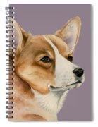 Welsh Corgi Dog Painting Spiral Notebook