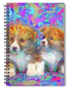 Welsh Corgi Pups Spiral Notebook