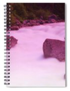 Wenatchee River  Spiral Notebook