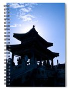 Wenchang Pavillion Spiral Notebook