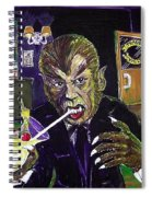 Werewolf Drinking A Pina Colada At Trader Vic's Spiral Notebook