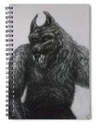 Werewolf Spiral Notebook