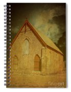 Wesley Church, Greenough, Western Australia Spiral Notebook