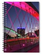 West 7th Street Bridge Spiral Notebook