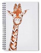 West African Giraffe Spiral Notebook