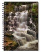 West Bank View Of Sgwd Isaf Clun-gwyn Falls Spiral Notebook
