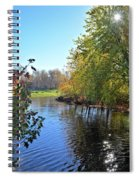 West Branch Iowa River Spiral Notebook