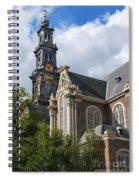 West Church Westerkerk Spiral Notebook
