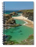 West Coast Of Portugal Spiral Notebook