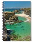 West Coast Portugal Spiral Notebook