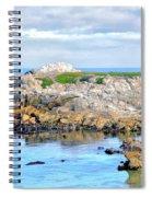 West Coast Seascape 3 Spiral Notebook