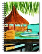 West End Roatan Spiral Notebook