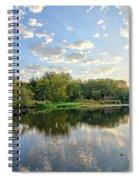 West Fork Bend Spiral Notebook