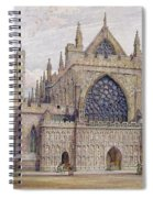 West Front, Exeter Cathedral Spiral Notebook