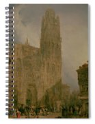 West Front Of Notre Dame Spiral Notebook