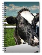 West Michigan Dairy Cow Spiral Notebook