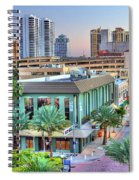 West Palm At Twilight Spiral Notebook