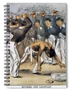 West Point Cartoon, 1880 Spiral Notebook