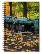 West Point Fall Leaves Spiral Notebook