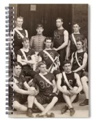 West Point: Track, 1896 Spiral Notebook