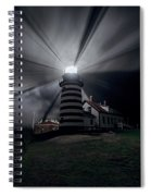 West Quoddy Head Lighthouse History And Facts Spiral Notebook