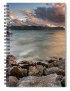 West Shore Sunset Spiral Notebook