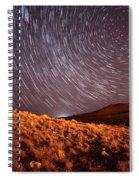 West Side Volcano Spiral Notebook