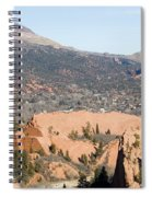 West Springs And Distant Garden Of The Gods Spiral Notebook