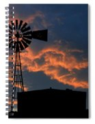 West Texas Cattle Tank Spiral Notebook