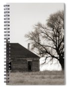 West Texas Winter Spiral Notebook