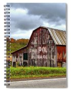 West Virginia Barn Spiral Notebook