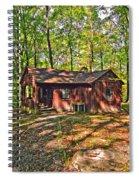 West Virginia Cabin Spiral Notebook