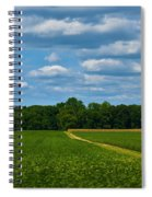 West Virginia Field  Spiral Notebook